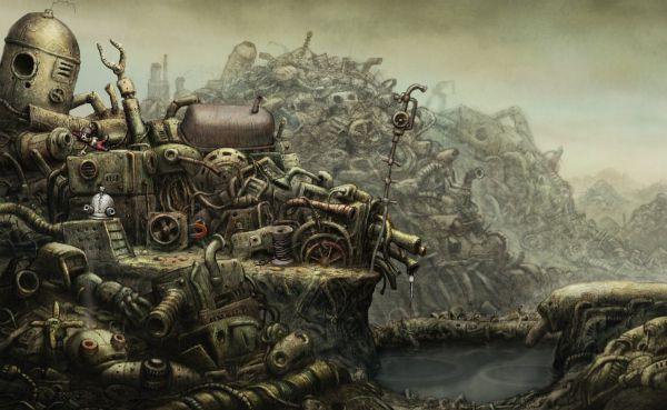 Machinarium Walkthrough The Dump