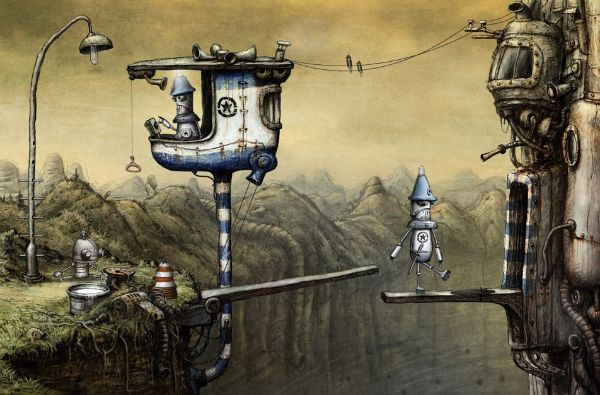 Machinarium // The Drawbridge