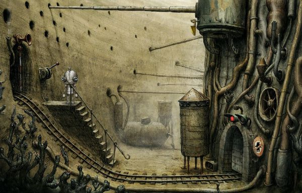 Machinarium Walkthrough The Mine Cart