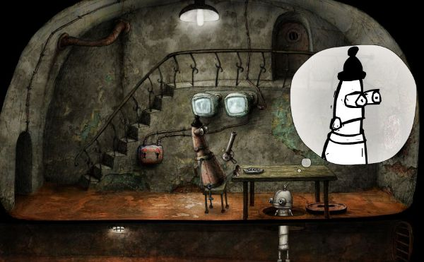 Machinarium Walkthrough // The Break Room
