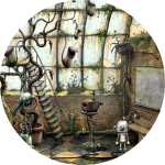 Machinarium Walkthrough // The Roof and Greenhouse