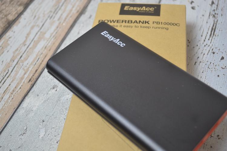 EasyAcc Classic 10000mAh External Battery Brilliant Power Bank review