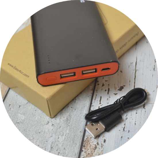EasyAcc Classic 10000mAh External Battery Brilliant Power Bank review