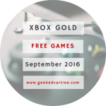 Xbox Games With Gold September 2016