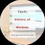 A Brief History of Microsoft Windows