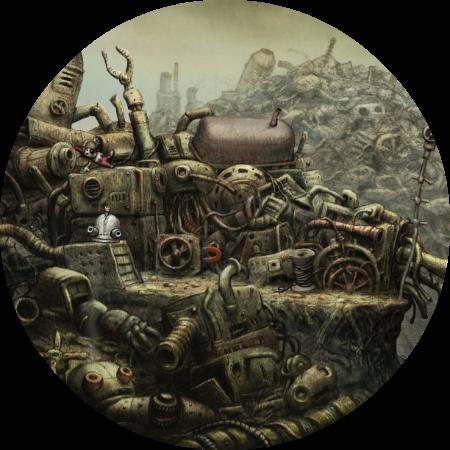 Machinarium Walkthrough // The Dump