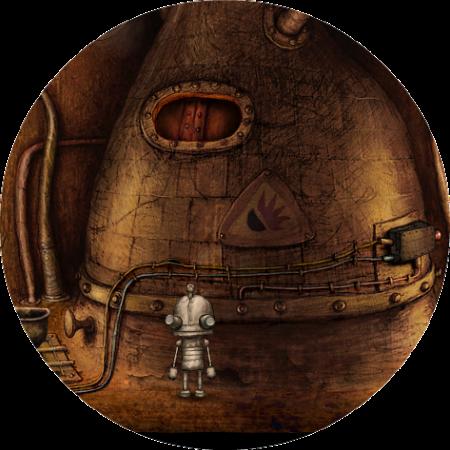 Machinarium Walkthrough // The Furnace