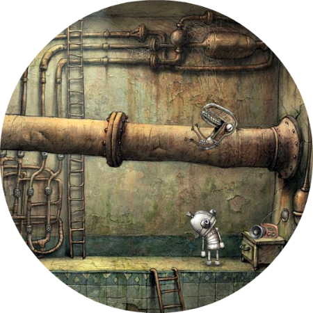 Machinarium Walkthrough // The Sewer