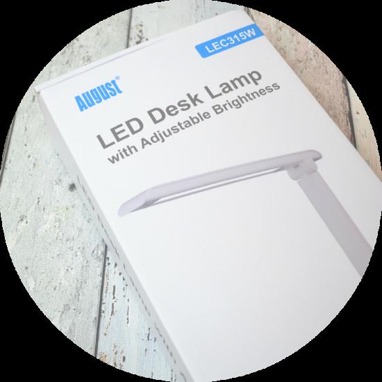 August LEC315Q LED Desk Lamp Review